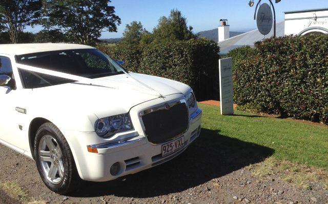 About Our Limousines White Limo